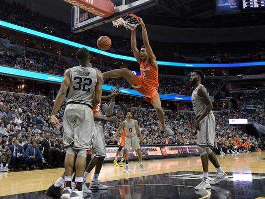 NCAA Basketball: Syracuse at Georgetown