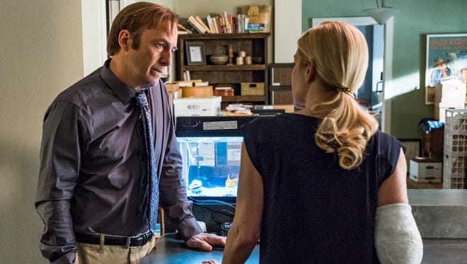 Jimmy McGill (Bob Odenkirk) navigates life without a law license and his brother Chuck in the fourth season of AMC's 'Better Call Saul.'