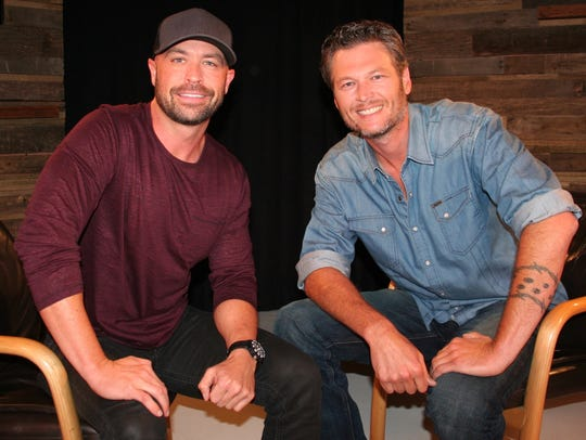 CMT personality Cody Alan and country star Blake Shelton