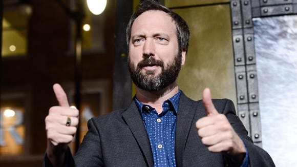 "Tom Green attends the premiere for the film ""300: Rise of an Empire"" in Los Angeles last year."