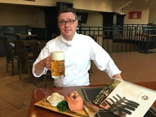 Rocco Suckert is the new head chef at Jeanette's Edelweiss,