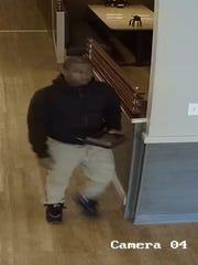 Hackettstown police released security photos of a man