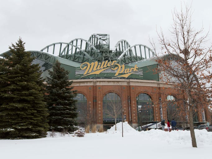 Sure, Miller Park has a retractable roof to help keep