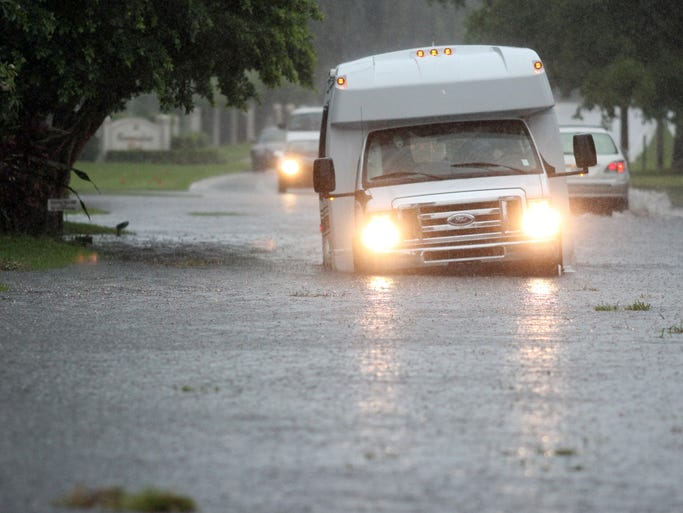 Collier County was impacted in many ways be record rainfall on Monday.