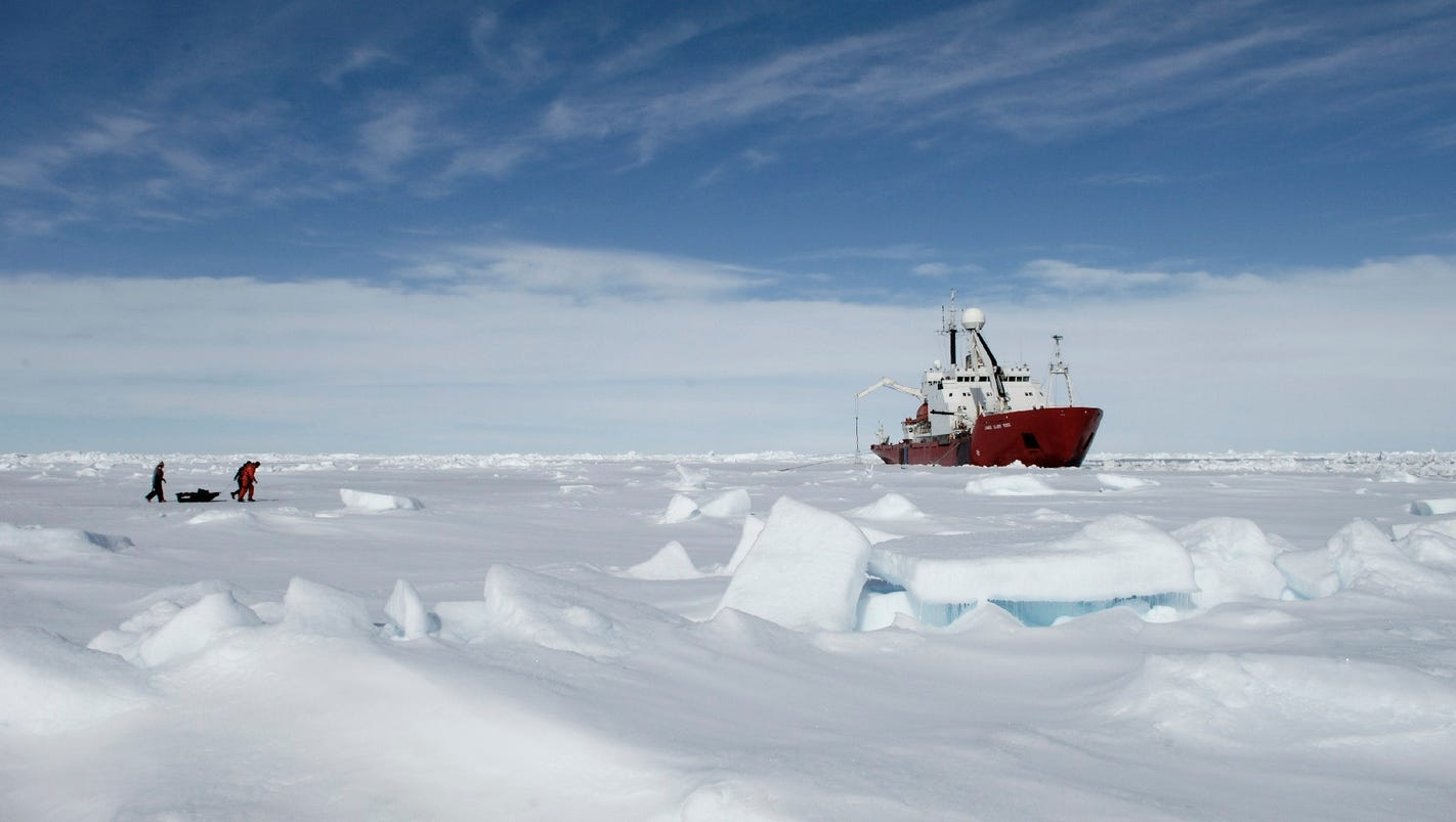 Scientists to explore an underwater world near Antarctica that's been hidden for 120000 years