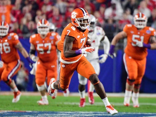 Mike Williams is ranked the top wide receiver in this