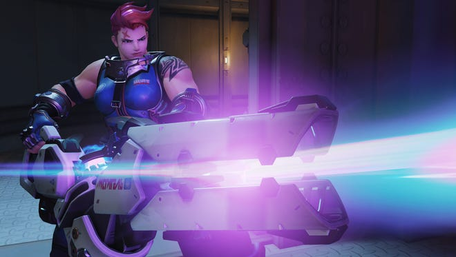 A scene from the game 'Overwatch.'