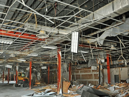 Miracle City Mall demolition
