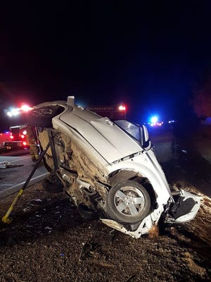 Four are dead following a two-car crash south of Chandler, according to a Maricopa County Sheriff's Office spokesperson.
