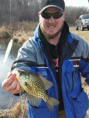 Spring crappies are heating up in northwest Wisconsin