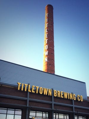 Titletown Brewing celebrated the grand opening of its new brewery and tap room at 320 North Broadway, Green Bay, on Saturday, Oct. 11, 2014.