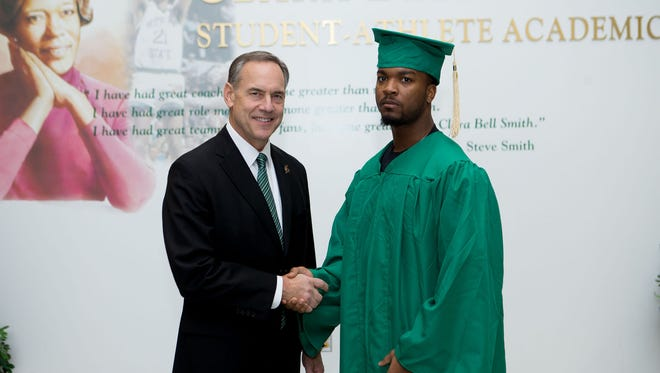 Mylan Hicks graduated from the MSU College of Social Science with a psychology degree in 2014.