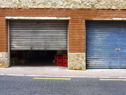 Asked opening garage door a bit help cool inside for Lodi garage doors and more in phoenix az