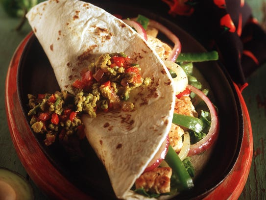 File photo of a taco, which is a staple of Mexican cuisine.