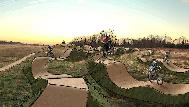 Dirt jumps are also on the list of possibilities at a bike park in Blue Ash.