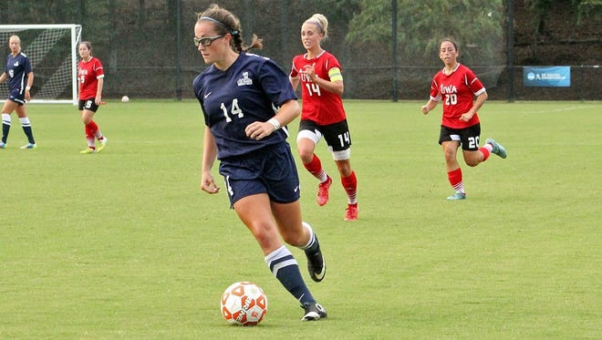 Enka alum Nicole Corcione now attends college at Columbus State (Ga.).
