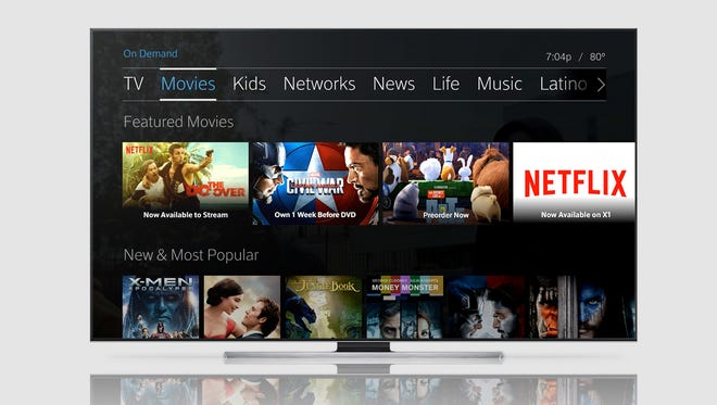 Comcast X1 users can now enjoy Netflix content from their set-top box