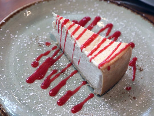The Buffalo ricotta cheesecake at Rafele Rye on Purchase