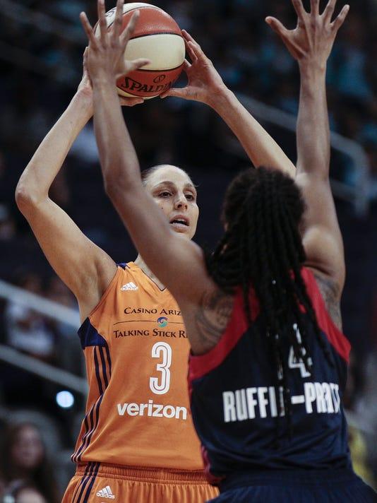 WNBA Mystics @ Merury