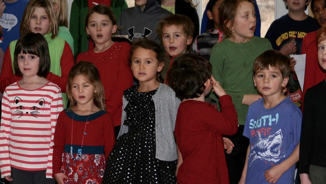 The Kwanzaa Ceremony at The Schoolhouse in South Burlington on Dec. 17.