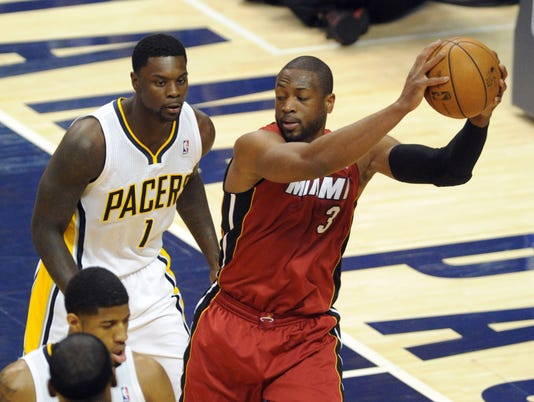 Heat mum after Lance Stephenson's comment on Dwyane Wade's knee