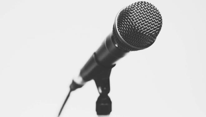 Open mic.