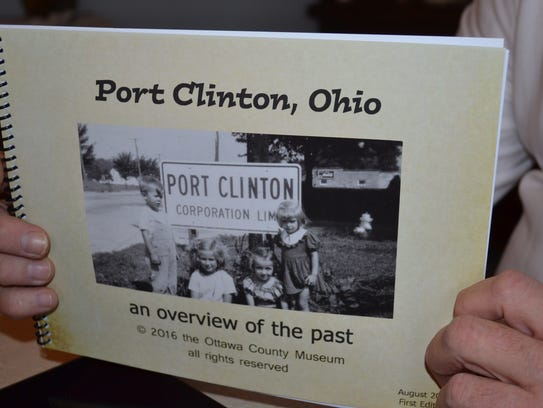 """Port Clinton, Ohio: An Overview of the Past"" covers"