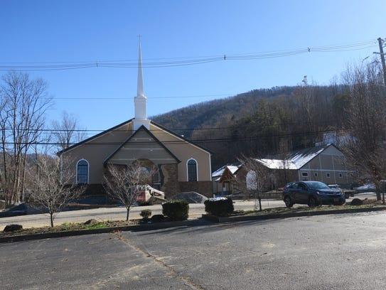 New buildings at Roaring Fork Baptist Church in Gatlinburg