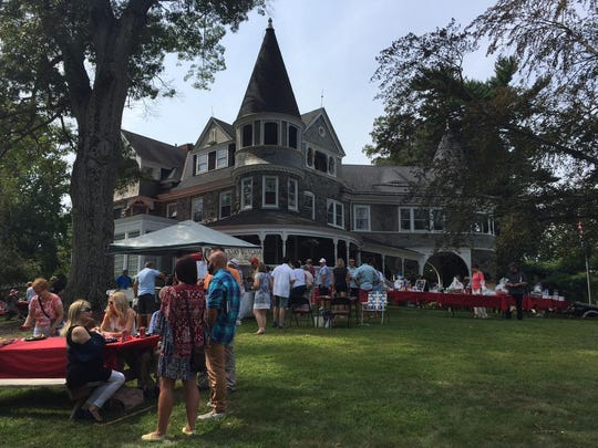 About 500 people attended the Auburn Heights Invitational at the Auburn Heights Mansion Sunday in Yorklyn.