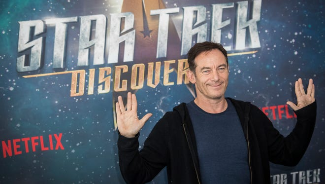 Actor Jason Isaacs poses for photographers Nov. 5 while promoting the TV series 'Star Trek: Discovery' in London. Isaacs will join Pensacon's 2018 celebrity guest list.