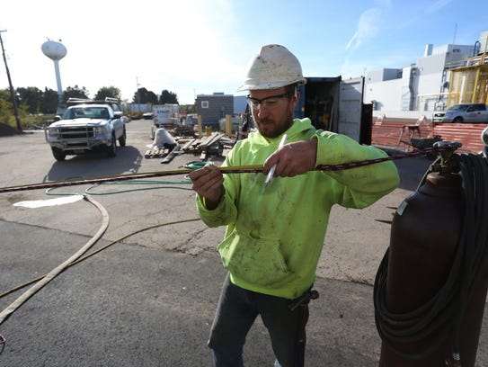 Supervisor for Staab Construction of Marshfield, Cliff