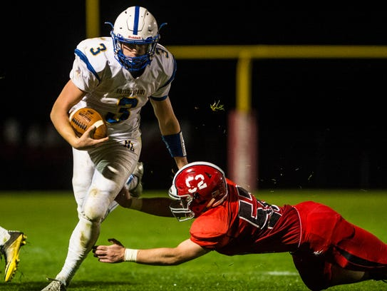 Northern Lebanon's Michigan Daub avoids Annville-Cleona's