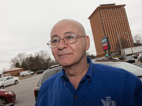 Drew Hurst, owner of Cupcake Heaven in the Fairfax