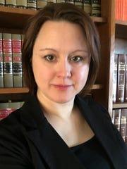 Attorney Angela Henderson of Oshkosh