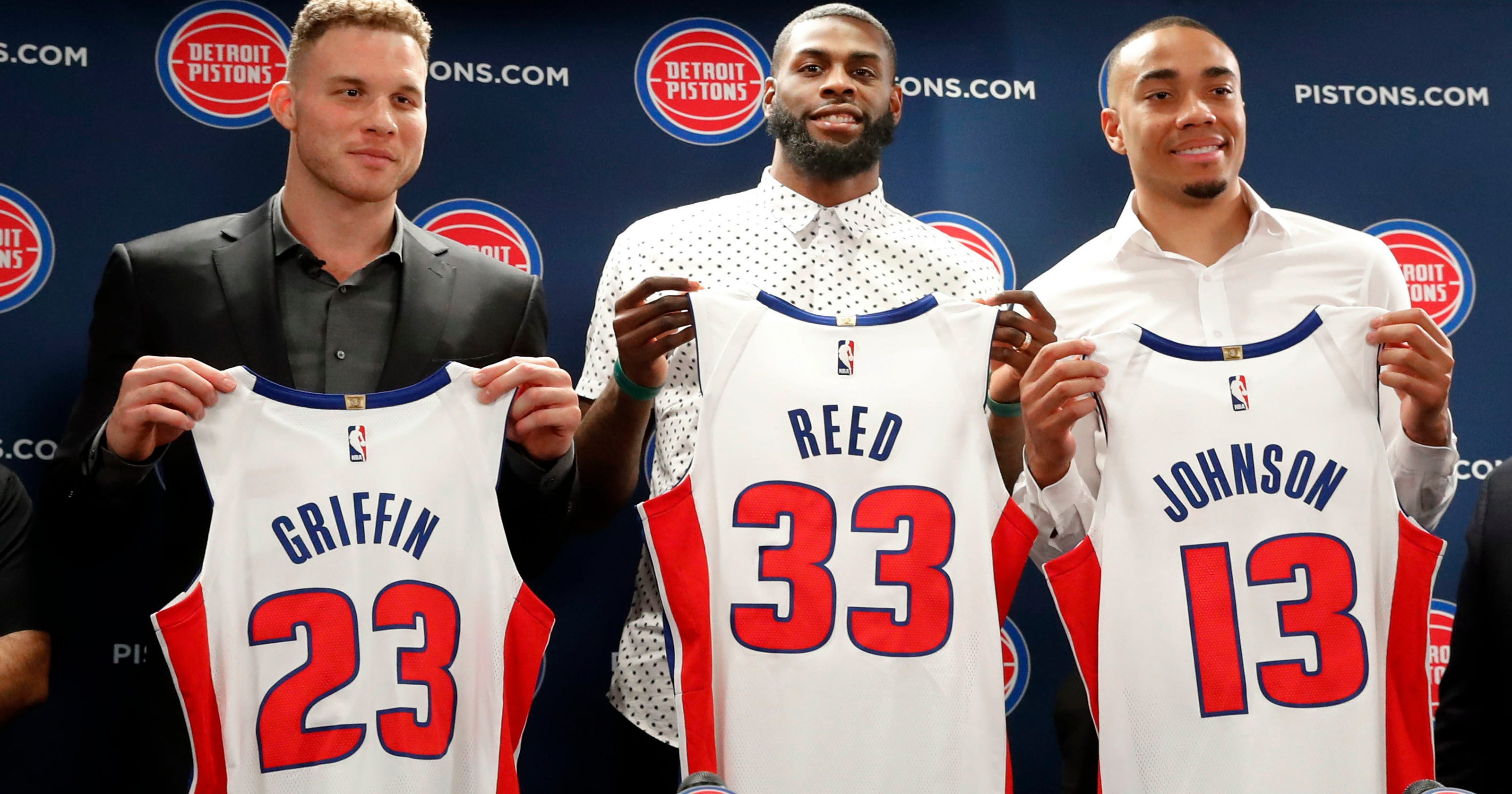 check out 5af5c 50290 Pistons' Blake Griffin says he wants to be where he's wanted