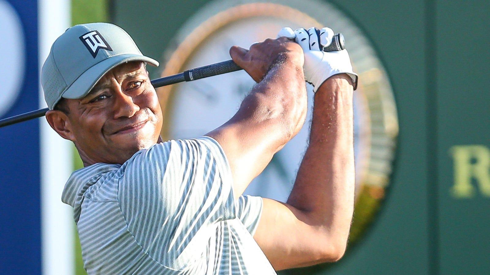 18+ Cbs golf telecast viral