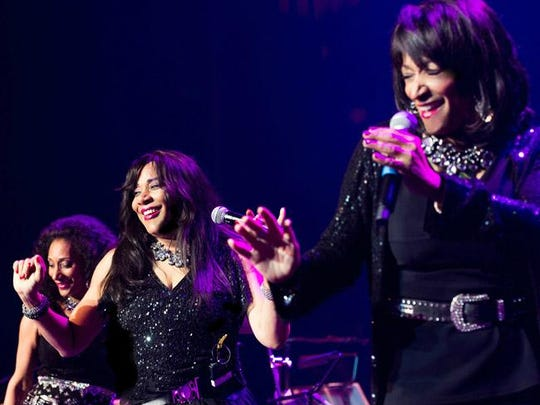 Debbie, Joni and Kim Sledge of the group Sister Sledge