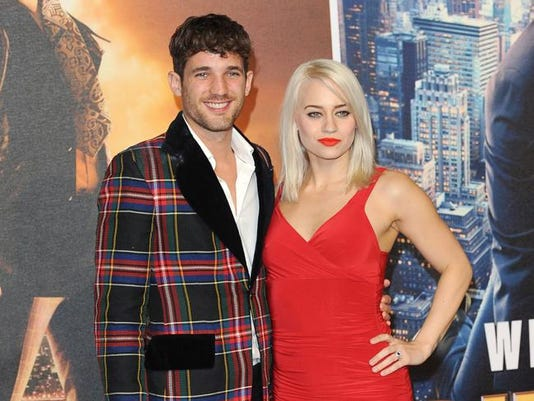 Kimberly Wyatt and Max Rogers