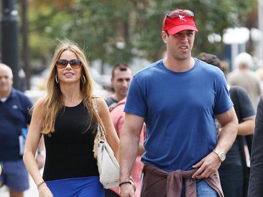 Sofia Vergara and ex-boyfriend Nick Loeb