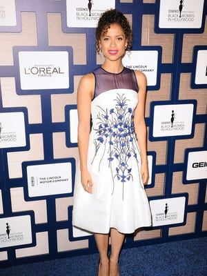 Actress Gugu Mbatha-Raw received the Breakthrough of the Year award at the Essence Black Women in Hollywood luncheon for her work in 'Belle' and 'Beyond the Lights.'