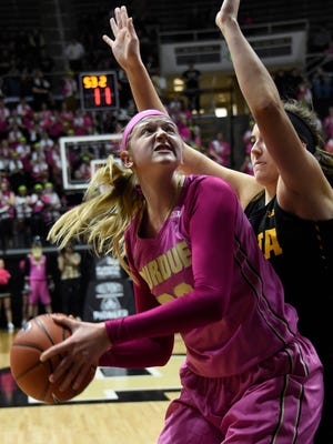 Center Bree Horrocks (22) will be able to play immediately as a graduate transfer.