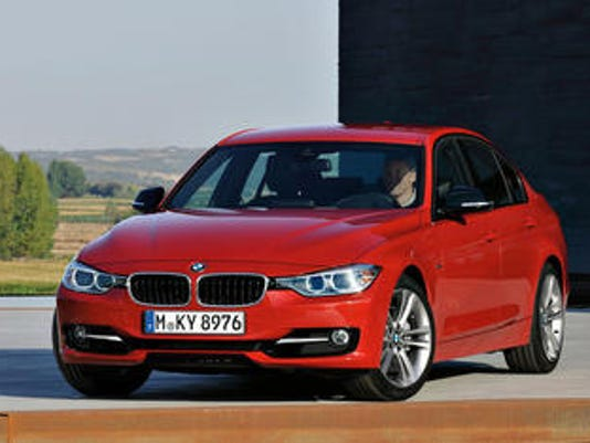 BMW is recalling more than 156,000 cars and SUVs in the U.S. because the engines can lose power or stall. This BMW2012 BMW 3 Series Sedan is among those being recalled.