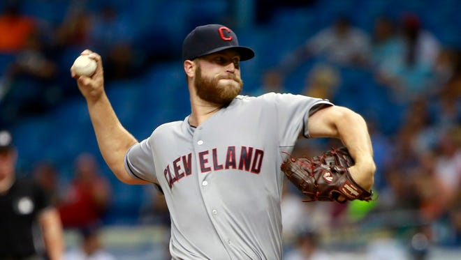 Cody Anderson flirted with perfect game in just his second big league start.