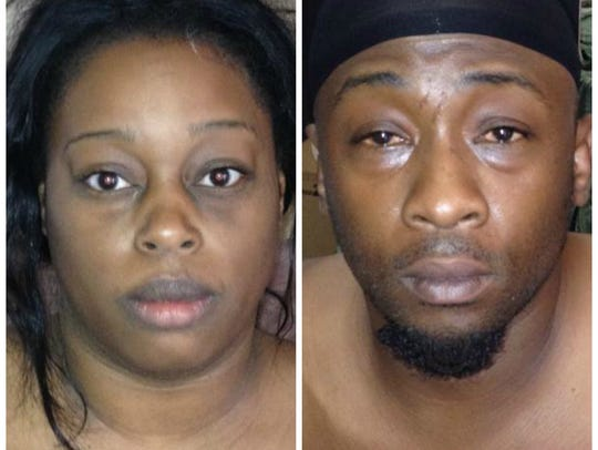 Latoya Yvette Emmons, who was sentenced in December, and Lester Levell Singleton, who was sentenced Tuesday.