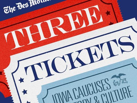Three Tickets Podcast Logo