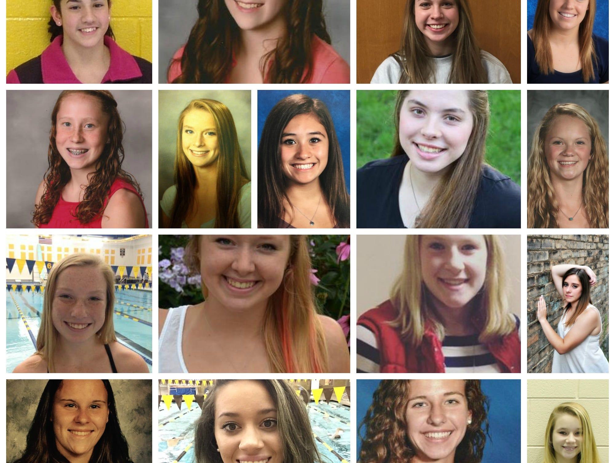 Meet the 2015 LSJ girls swimming and diving Dream Team.