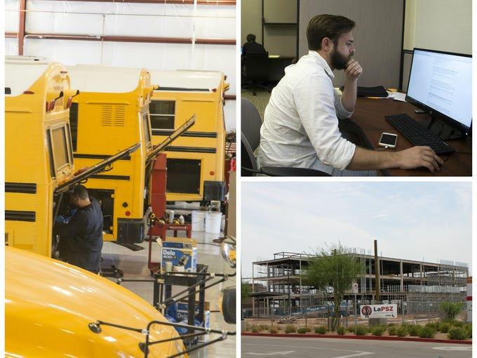More than a dozen companies have either moved to Glendale