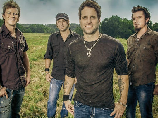 Hit-making country music band Parmalee will perform at the Way Out West Fest on Sept. 17 at Southwest University Park.