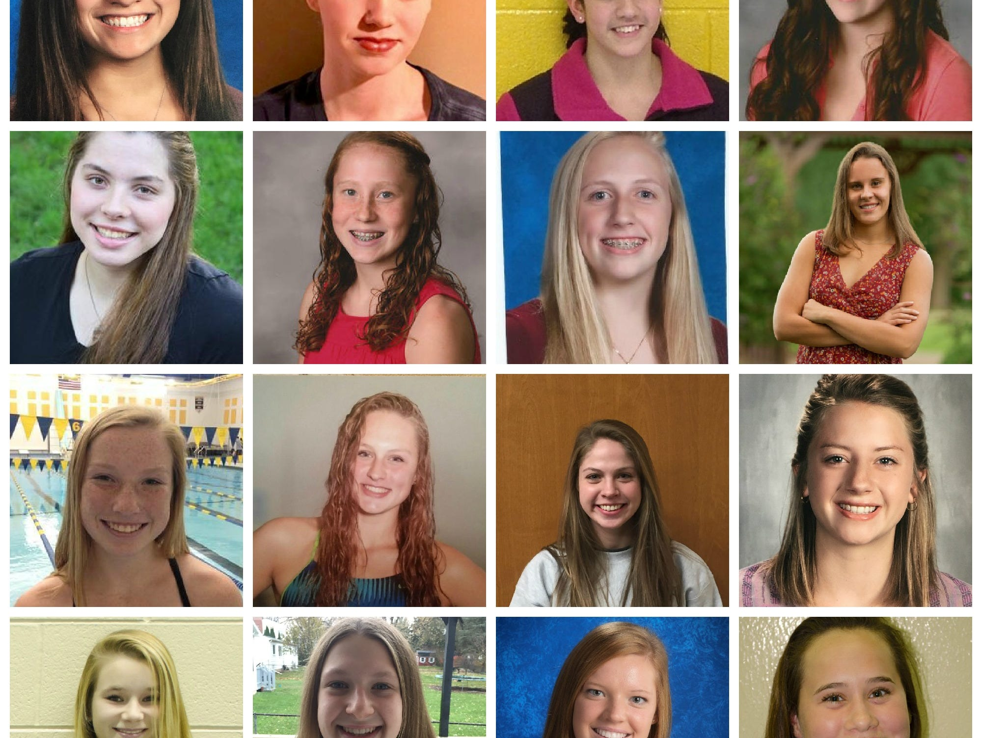 Meet the 2016 LSJ girls swimming and diving Dream Team.
