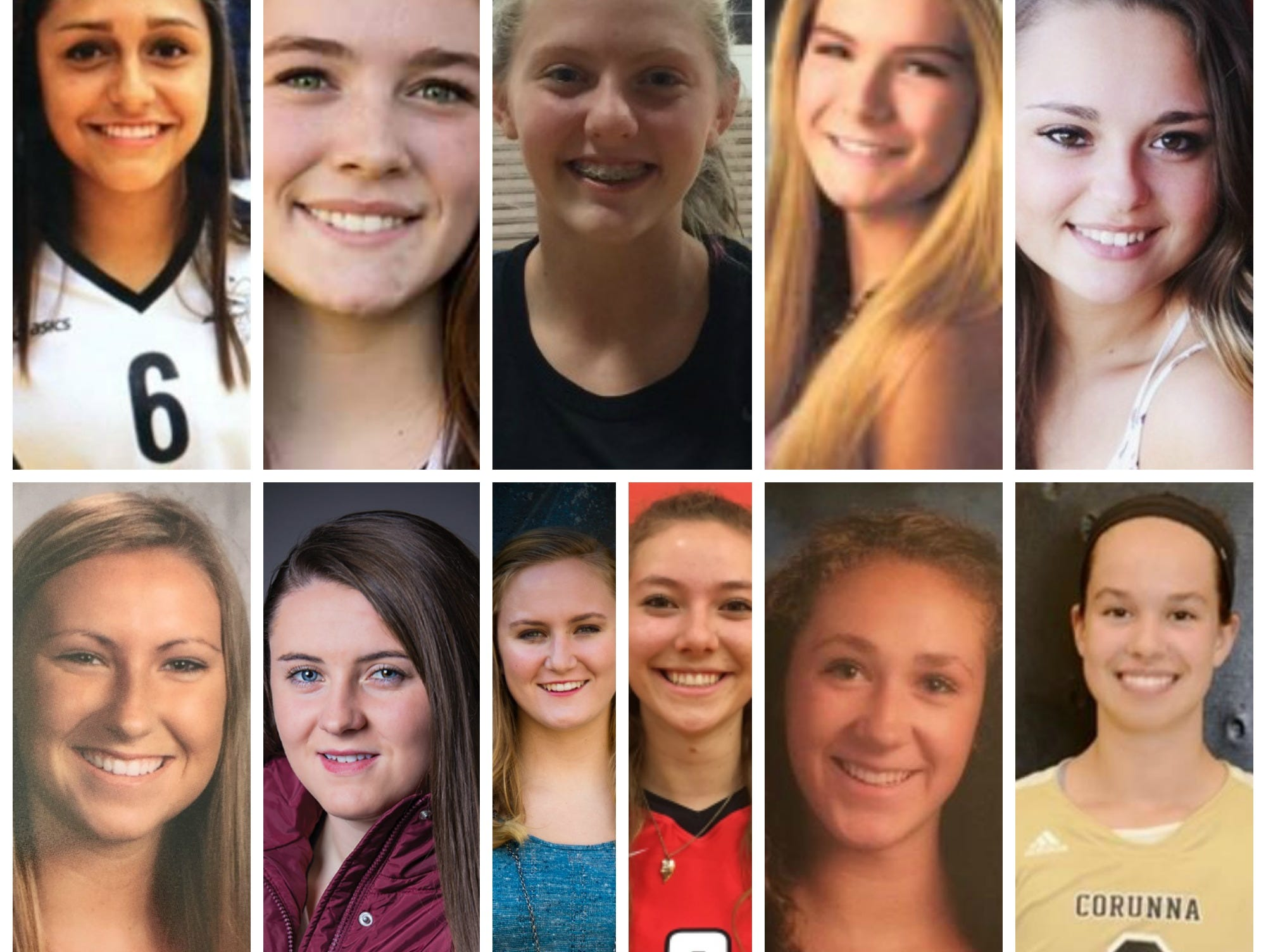 Meet the 2016 LSJ girls volleyball Dream Team.
